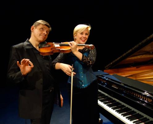 Clara CERNAT et Thierry HUILLET 2
